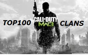 TOP100 MW3 CLANS